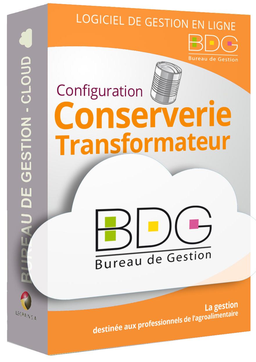 Bureau de Gestion Cloud - Gestion conserveries fabriquants producteurs en ligne