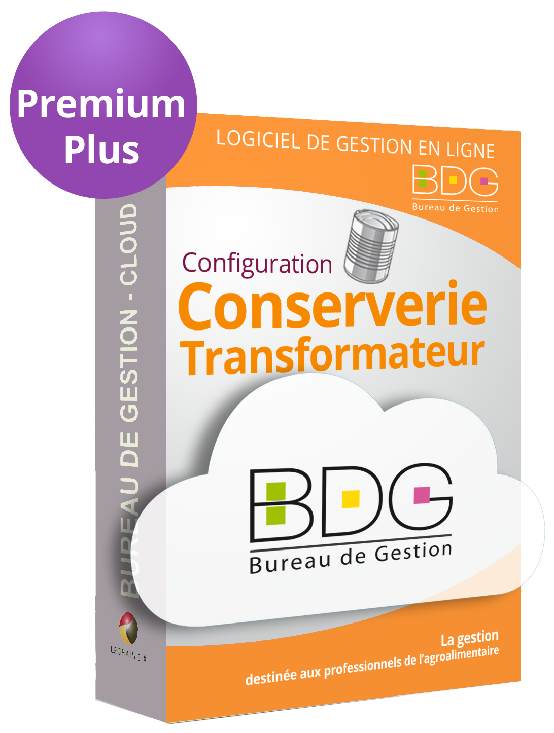 Bureau de Gestion Cloud -  Conserveries Transformateurs Premium Plus