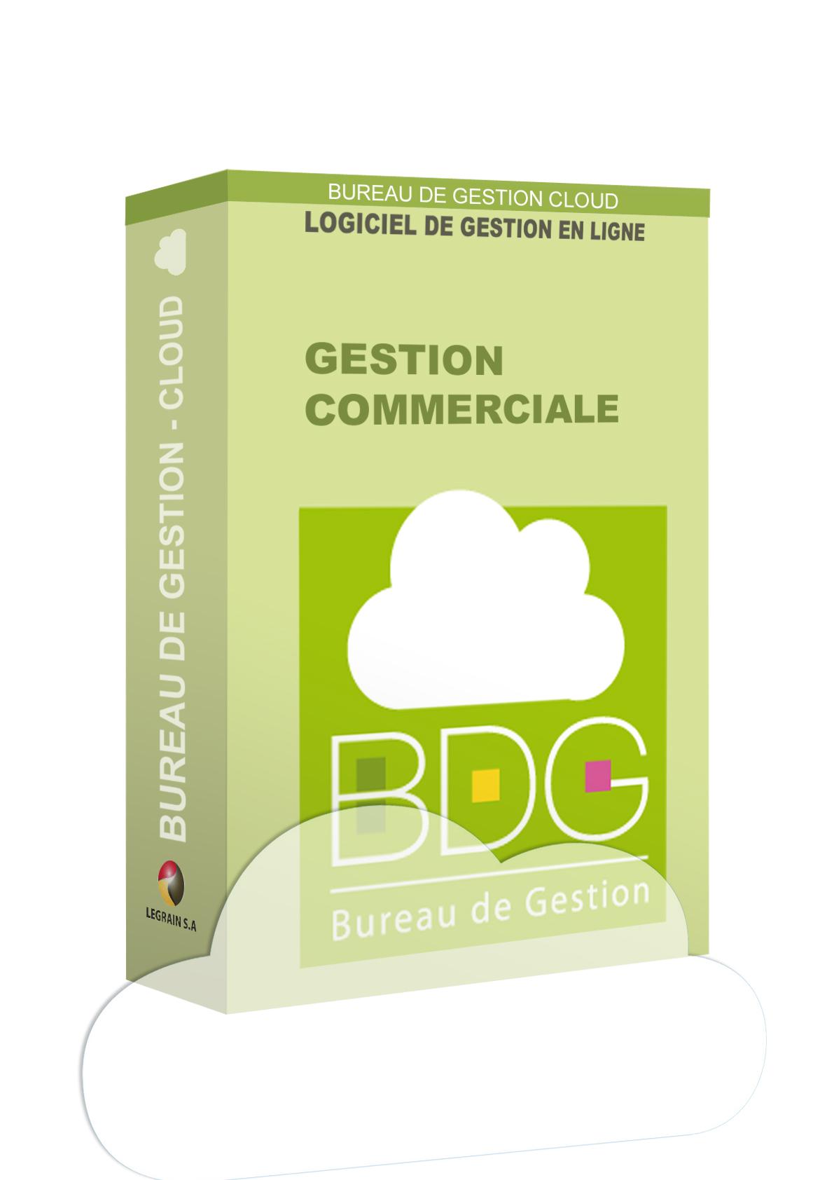 Bureau de Gestion cloud : logiciel de gestion commerciale en ligne