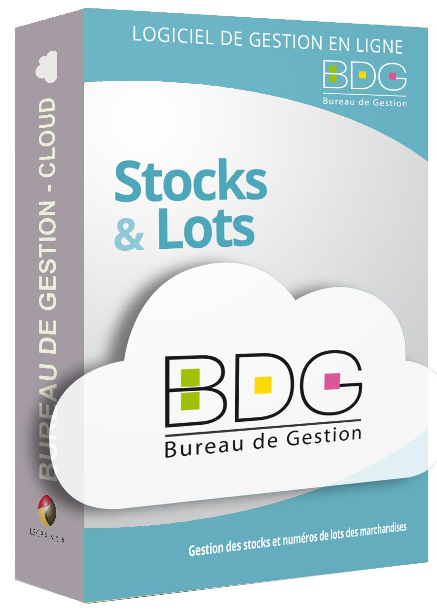 Bureau de Gestion Cloud - Gestion stocks et numéros de lots en ligne